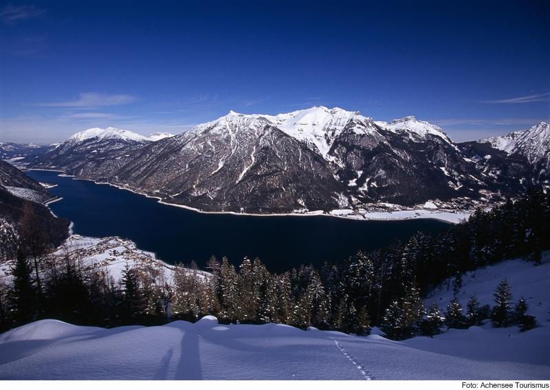Achensee im Winter