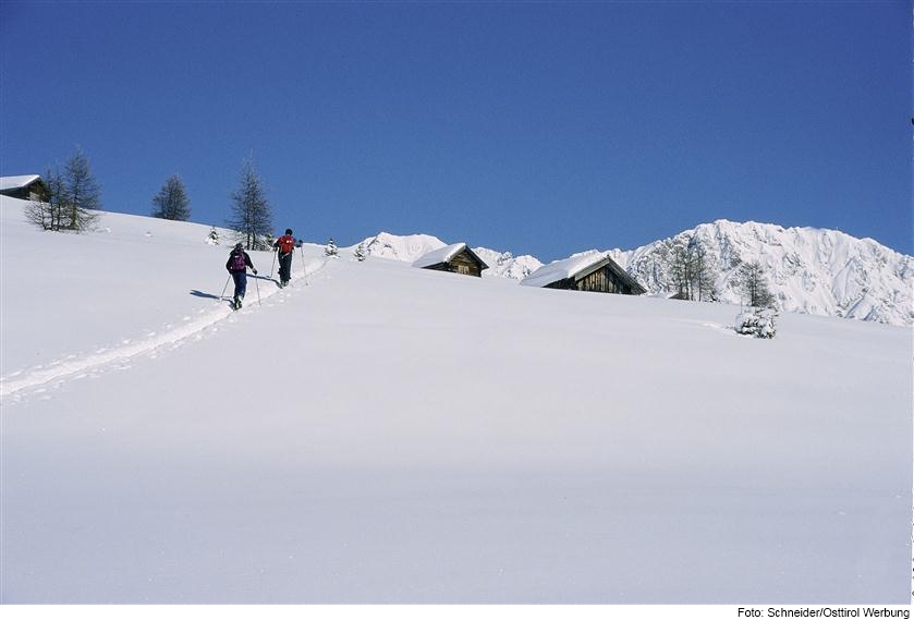 Skitour in Untertilliach in Osttirol
